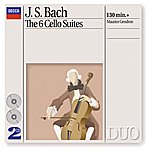 Maurice Gendron Bach, J.S.: The 6 Cello Suites (2 Cds)