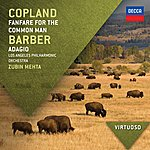 Los Angeles Philharmonic Orchestra Copland: Fanfare For The Common Man / Barber: Adagio