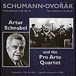 Artur Schnabel Schumann: Piano Quintet In Eb, Op. 44 - Dvorak: Piano Quintet In A, Op. 81