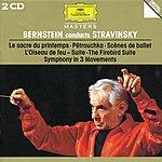 Israel Philharmonic Orchestra Bernstein Conducts Stravinsky (2 Cds)