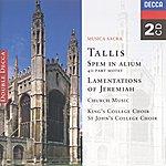 Choir Of St. John's College, Cambridge Tallis: Spem In Alium; The Lamentations Of Jeremiah Etc. (2 Cds)