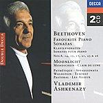 Vladimir Ashkenazy Beethoven: Favourite Piano Sonatas (2 Cds)