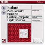 Claudio Arrau Brahms: Piano Concertos Nos.1 & 2/Haydn Variations Etc. (2 Cds)