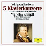 Wilhelm Kempff Beethoven: 5 Piano Concertos (3 Cd's)