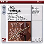 Maxence Larrieu Bach, J.S.: The Flute Sonatas/The Viola Da Gamba Sonatas (2 Cds)