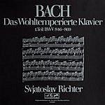 Sviatoslav Richter Bach: Das Wohltemperierte Klavier Vol. 1
