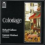 Richard Galliano Coloriage