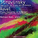 Monique Haas Stravinsky: Capriccio For Piano And Orchestra - Ravel: Piano Concerto In G Major (Remastered)
