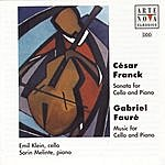 Emil Klein Franck: Sonata For Cello And Piano/Fauré: Various Pieces