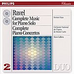 Werner Haas Ravel: Complete Music For Piano Solo/Piano Concertos (2 Cds)