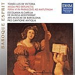Pro Cantione Antiqua, London Tomas Luis De Victoria: Missa Pro Defunctis