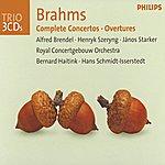 Alfred Brendel Brahms: Complete Concertos / Overtures (3 Cds)