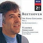 Vladimir Ashkenazy Beethoven: Piano Concertos, Vol.1 (2 Cds)