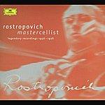 Mstislav Rostropovich Rostropovich - Mastercellist. Legendary Recordings 1956-1978 (2 Cds)