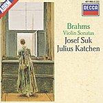 Josef Suk Brahms: Violin Sonatas Nos.1-3