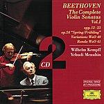 Yehudi Menuhin Beethoven: The Complete Violin Sonatas Vol.I (2 Cd's)