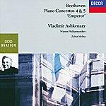 """Vladimir Ashkenazy Beethoven: Piano Concertos Nos.4 & 5 """"Emperor"""""""