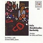 Emil Klein Mendelssohn-Bartholdy: Duo Sonatas For Cello And Piano