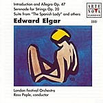 """Ross Pople Elgar: Serenade For Strings/Suite From """"A Spanish Lady"""", Etc."""