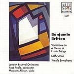 Ross Pople Britten: Simple Symphony Op.1 / Lachrymae Op.48