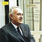 """Maurizio Pollini Mozart: Piano Concerto No.23 / Beethoven: Piano Concerto No.5 """"Emperor"""" (Cd 1)"""