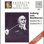 David Zinman Beethoven: Symphonies No. 1 & 2