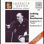David Zinman Beethoven: Symphonies Nos. 3 & 4