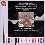 Eduardo Mata Capriccio Italien; Bolero; A Night On Bald Mountain; The Sorcerer's Apprentice; Romanian Rhapsody No. 1