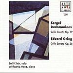 Emil Klein Rachmaninov/Grieg: Cello Sonatas