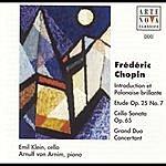Emil Klein Chopin: Sonata F. Cello+Piano, Chopin/Glazunow: Etude