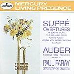 Detroit Symphony Orchestra Suppé: Overtures / Auber: The Bronze Horse, Etc.