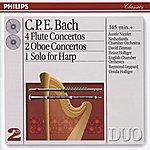 Heinz Holliger Bach, C.P.E.: 4 Flute Concertos; 2 Oboe Concertos, Etc. (2 Cds)