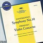 Wolfgang Schneiderhan Stravinsky: Violin Concerto In D / Shostakovich: Symphony No.10, Op.93