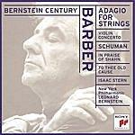 Leonard Bernstein Barber: Adagio For Strings / Schuman - In Praise Of Shahn Etc.