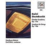 Emil Klein Shostakovich: Chamber Sym. Op. 110 A/Symphony For Strings Op 118 A