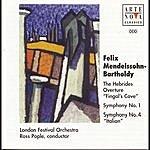 Ross Pople Mendelssohn: Symphonies Nos. 1 & 4