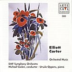 Michael Gielen Elliott Carter: Concerto For Piano And Orchestra