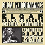 "Daniel Barenboim Elgar: Cello Concerto; Enigma"" Variations; Pomp And Circumstance Marches No. 1 & 4"
