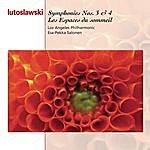 Esa-Pekka Salonen Lutoslawski: Symphonies Nos. 3 & 4, Les Espaces Du Sommeil