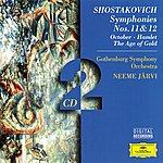 Gothenburg Symphony Orchestra Shostakovich: Symphonies Nos. 11 & 12; October; Hamlet; The Age Of Gold (2 Cds)