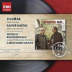 Mstislav Rostropovich Dvorak & Saint-Saens:Cello Concertos