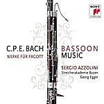 Sergio Azzolini C.P.E. Bach: Bassoon Music / Werke Für Fagott