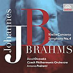 David Oistrakh Brahms: Concerto For Violin And Orchestra In D Major, Symphony No. 4 In E Minor