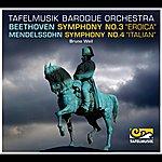 """Bruno Weil Beethoven: Symphony No. 3 """"Eroica"""", - Mendelssohn Symphony No. 4, """"Italian"""""""