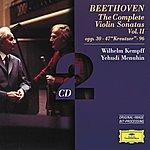 Yehudi Menuhin Beethoven: The Complete Violin Sonatas Vol.II (2 Cd's)