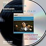 Sviatoslav Richter Liszt: The Piano Concertos / Beethoven: Piano Sonatas Nos.10,19, & 20