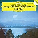 "Emil Gilels Beethoven: Piano Sonatas Nos.8 ""Pathétique"", 13 & 14 ""Moonlight"""