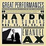 Emanuel Ax Haydn: Sonatas Nos. 33, 38, 58, 60