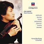 Kyung-Wha Chung Con Amore - Violin Encores
