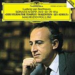 """Maurizio Pollini Beethoven: Piano Sonatas Nos.17 """"The Tempest"""", 21 """"Waldstein"""", 25 & 26 """"Les Adieux"""""""
